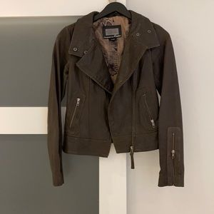 Mackage Aritzia Kenya leather jacket, size xs